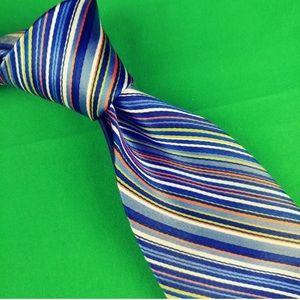 Tommy Hilfiger Mens Necktie 3.75 X 60 100% Silk